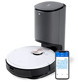 ECOVACS DEEBOT T8+ Robot aspirateur Laveur (2en1) avec Station d'auto-vidage : Fonction de Balayage, Navigation Intelligente (B08FCQ1Z6Y) | Amazon price tracker / tracking, Amazon price history charts, Amazon price watches, Amazon price drop alerts