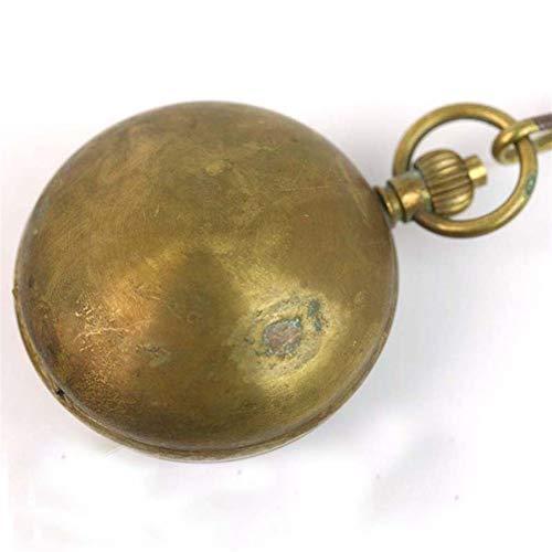 Pocket Watch Venta Al por Mayor Clásico Antiguo Mecánico De Los Hombres Cobre Reloj DE Bolsillo Freeship (Color : Gold)