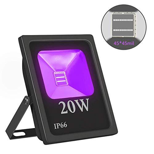 InBrave High Power UV LED Flood Light with Ultraviolet Black Light Bulbs review