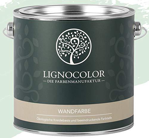 Lignocolor Wandfarbe Innenfarbe Deckenfarbe edelmatt 2,5 L (Pastel Blue)