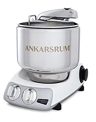 Ankarsrum Original 6230 Mineral White and Stainless Steel 7 Liter Stand Mixer