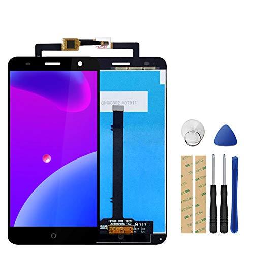 XCYY Compatible con pantalla LCD ZTE Blade V7 + digitalizador de pantalla táctil de repuesto para teléfono con marco y herramientas de pantalla LCD de repuesto (color blanco sin marco).