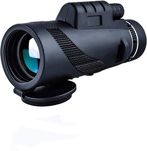 SGSG Hochleistungsteleskop, Monokular mit Nachtsicht bei schlechten Lichtverhältnissen - 40-maliges 60-HD-Monokular für Wildtiere Vogelbeobachtung Camping Reisende Wildtiere