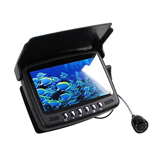 GYAM Cámara De Pesca Visual HD Submarina con Buscador De Peces Portátil con Transductor De Sonda Y Pantalla LCD para Pesca En Hielo