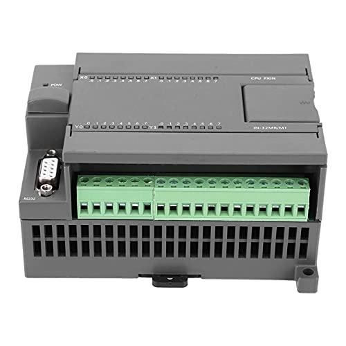 Cyrank Tablero de Control Industrial PLC, Tablero de Control Industrial DC 24V Tablero de Controlador lógico programable PLC Soporte de Salida de relé Interfaz Hombre-máquina