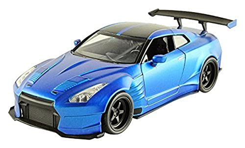Fast & Furious 1:24 2009 Brian's Nissan GT-R R35 Ben Sopra Die-cast Car, Toys for Kids and Adults