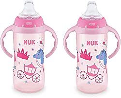 NUK Learner Cup Sippy Cup handles toddler sippy cup with handles