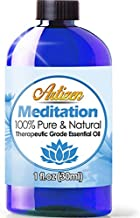 Artizen Meditation blend Essential Oil (100% PURE & NATURAL - UNDILUTED) Therapeutic Grade - Huge 1oz Bottle - Blended W/ Ylang Ylang, Patchouli, Frankincense, Clary Sage, Sweet Orange & Thyme