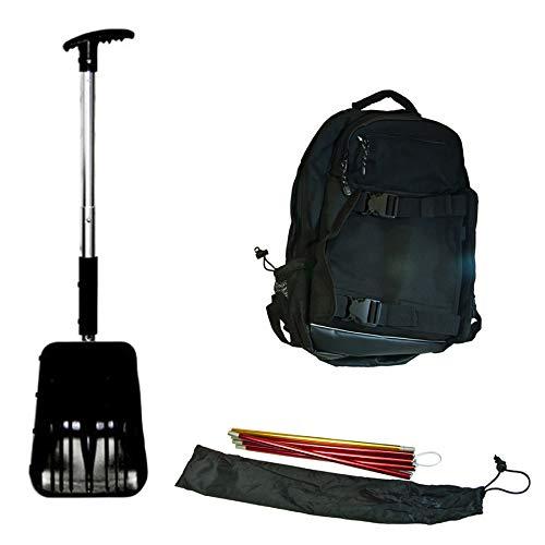 SPI Off-Trail Snowmobile Kit - Back Pack - Avalanche Probe - Shovel - Saw