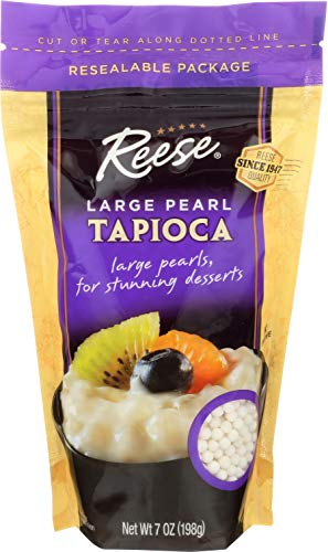 Reese Large Pearl Tapioca, 7-Ounces (Pack of 6)