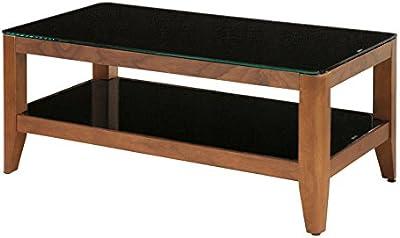 あずま工芸 リビングテーブル ウィズ 100cm幅 ブラウン色 GLT-2280
