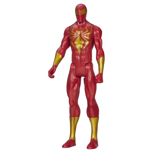 HASBRO Marvel Spiderman Iron Spider Rosso 30cm. A8726 A8727