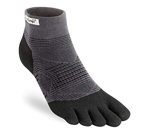 Injinji Run Original Peso Mini-Crew - Negro - Large