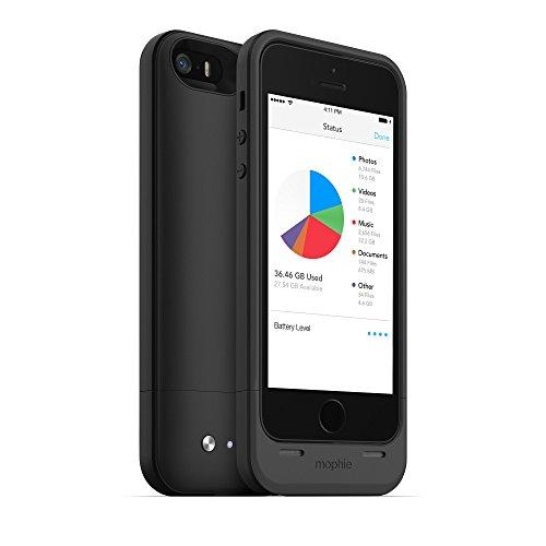Mophie Space Pack Hülle für Apple iPhone 5 schwarz