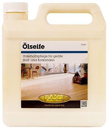 Faxe Ölseife weiss 2,5 Liter Holzboden Seife Boden Kork Holz Oelseife