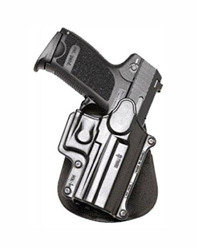 Fobus Concealed Carry Paddle Holster for H&K USP Compact 9 mm, 40 Cal, 45 Cal/Taurus PT11, PT140, PT111, Ruger SR9/SR9c/SR40 Walther PPQ