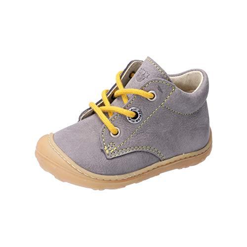 RICOSTA Unisex - Kinder Lauflern Schuhe Cory von Pepino, Weite: Mittel (WMS),terracare, Kinder-Schuhe toben Spielen verspielt,Graphit,24 EU / 7 Child UK