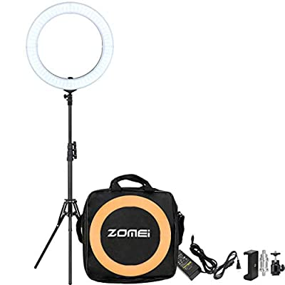 """ZOMEI 18"""" Dimmable Photography Lights with ..."""