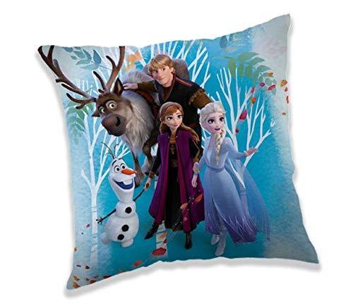 Eiskönigin Frozen 2 Anna ELSA Olaf Kissen Kuschelkissen Dekokissen 40 x 40 cm
