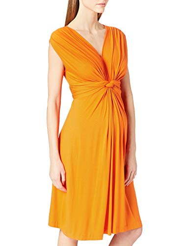 Pietro Brunelli Damen Papaver Special Occasion Dress, Bright ORANGE, L