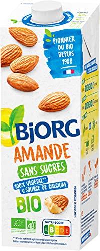 Bjorg Lait d'Amande Sans Sucres ajoutes Bio 1 L