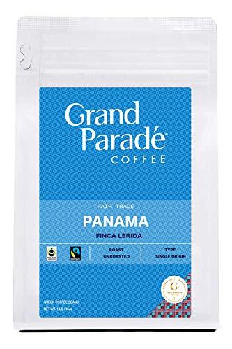 Grand Parade Coffee, 1 LB Unroasted Panama Boquete Coffee Beans - Award Winning Lerida Estate Single Origin - High Altitude Specialty Arabica - Low Acid - Fair Trade - Fresh Raw Green Coffee