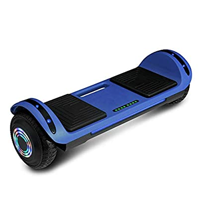 cho Hoverboard Hover Board Electric Scooter Two-Wheel Smart Self Balancing Speaker (Solid Blue)