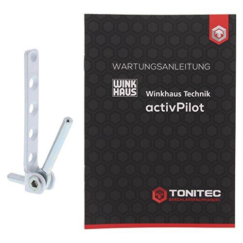 Winkhaus Ecklager EL.K 6-3-16 weiß RAL 9016 + ToniTec Wartungsanleitung ActivePilot