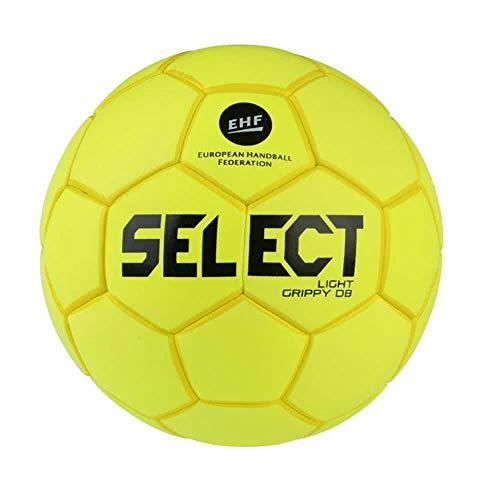 Select Jungen Light Grippy Handball, Gelb, 1