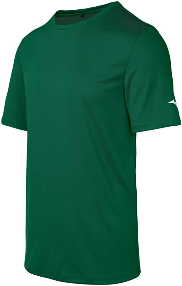 Mizuno Youth Tee, Forest, Small