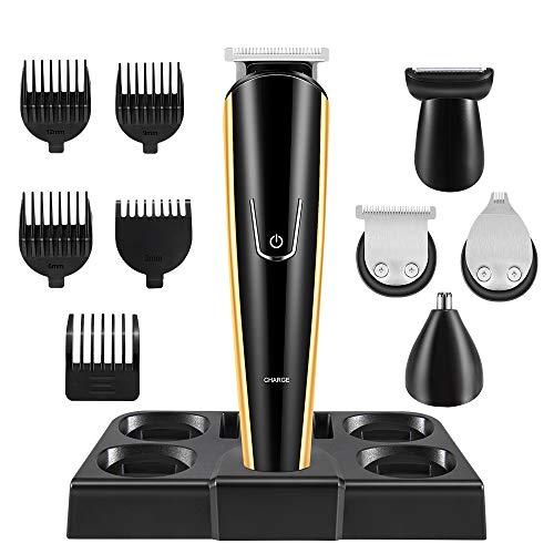 La'prado Hair Clippers Professionelles elektrisches Haarschnitt Kit für Männer und Familien Wiederaufladbarer Bartschneider Nasenohr Gesichtshaarschneide Kit