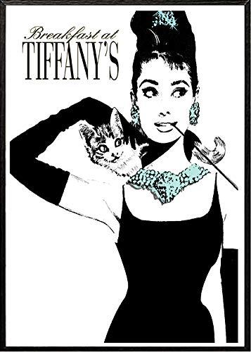 4Good Epictures Audrey Hepburn Poster A3 und A4 Breakfast at Tiffany´s Bild Bilder Set Wohnzimmer Schlafzimmer WBE5-A3
