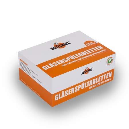 SPÜLBOY® Gläserspültabletten Classic (48 Tabletten = 192 Anwendungen)
