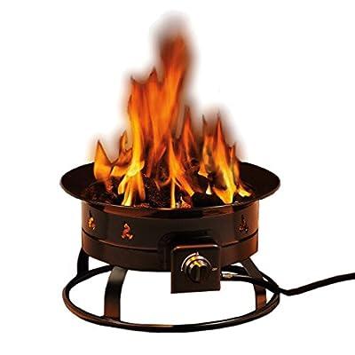Heininger 5995 58,000 BTU Portable Propane Outdoor Fire Pit