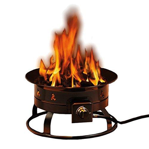 Heininger 58,000 BTU Portable Propane Outdoor Fire Pit