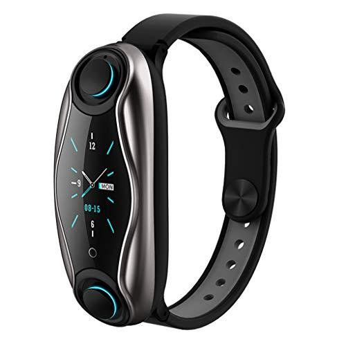 Hffan Fitness Tracker mit Pulsmesser, Schlanke Sport Activity Tracker Watch, wasserdichte Schrittzähler Uhr mit Schlaf Monitor, Step Tracker für Kinder, Frauen und Männer