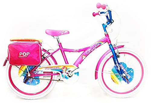 Reset Bicicletta per Ragazza 20' Pop Sunrise Rosa e Bianca