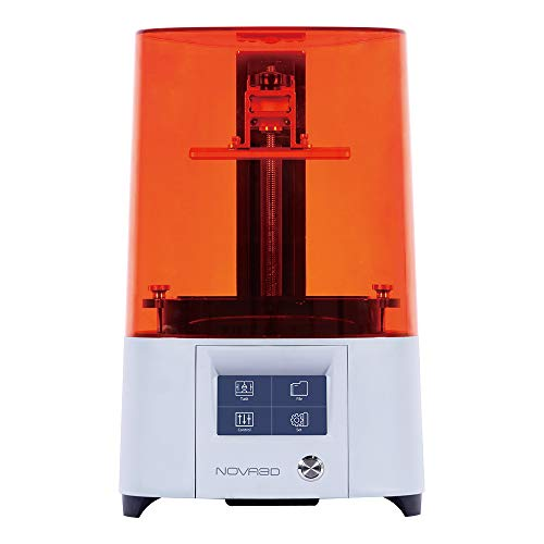 NOVA3D Elfin2 3D Printer LCD/SLA 3D Resin Printer with 4.3' Smart Touch Screen, WiFi/Off-line Print UV Photocuring printer, 5.2'x 2.91'x 6.9' Print Size