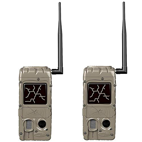Cuddeback Cudde Link 20 MP 32GB SD Card Hunting and Game Trail Cameras (2 Pack)