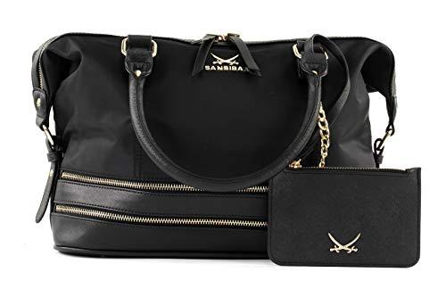 Sansibar Zip Bag Black