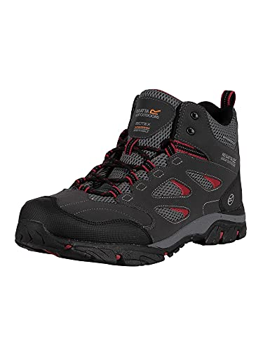 Regatta Men's Holcombe Iep Mid High Rise Hiking Boots, Red Ash Riored 21n, 8 UK