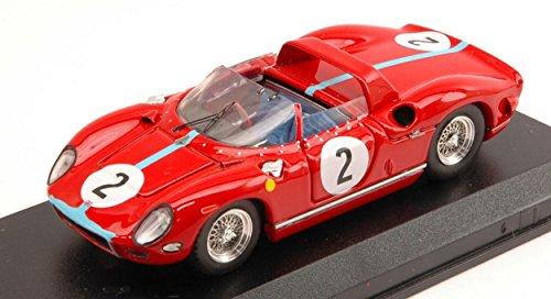 Art Model Modelo A Escala Compatible con Ferrari 330 P N.2 Winner 1000 KM Paris 1964 Hill-BONNIER 1:43 AM0180