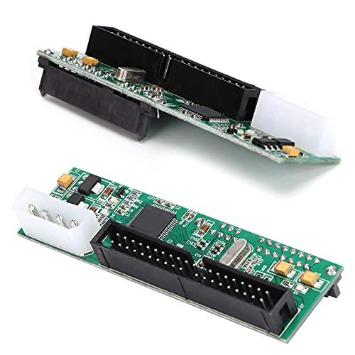 Adaptador SATA/IDE, Adaptador de Disco Duro Convertidor de Disco Duro Pata a SATA de Puerto IDE de 40 Pines para Computadoras PC/OS X para Windows 98 / SE/ME / 2000 / XP/Vista / 2003 / Win7 8,
