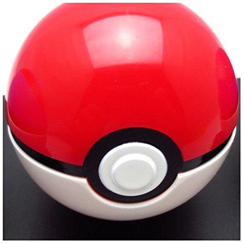 MyPartyShirt Pokeball Pokemon Ash Ketchum ouvre Ferme Pokémon Costume Prop Toy Rouge Blanc