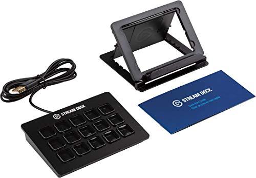 Elgato Stream Deck - Controlador para contenido en directo, 15 teclas LCD personalizables, soporte ajustable, Windows 10… 13