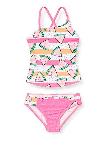 Schiesser Mädchen Tankini Badebekleidungsset, Mehrfarbig (Multicolor 1 904), (Herstellergröße: 128)