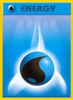 Pokemon - Water Energy (102/102) - Base Set