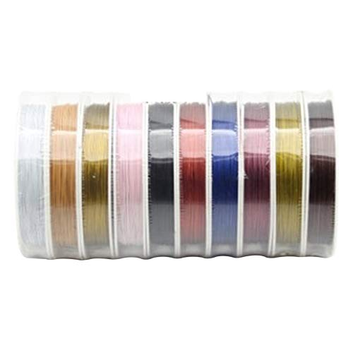 Dasing 10 Rolls of Jewellery Craft Wire Jewellery Wire, Used for Bracelets, Necklaces, Jewelry Handicrafts (10 Colors)