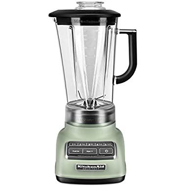 KitchenAid RKSB1570PI 5-Speed Blender with 56-Ounce BPA-Free Pitcher - Matte Pistachio (Certified Refurbished)