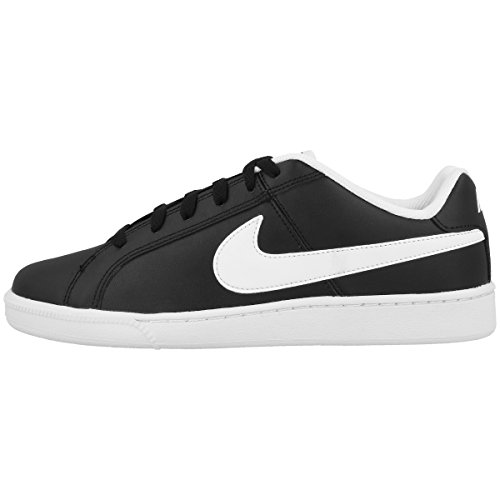 Nike Men's Court Royale Black and White Sneakers-10 UK (749747-010)